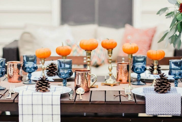 How to Host Friendsgiving Dinner with Tablescape & Recipes
