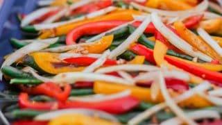 Marinated Green Bean Salad helps lighten the menu