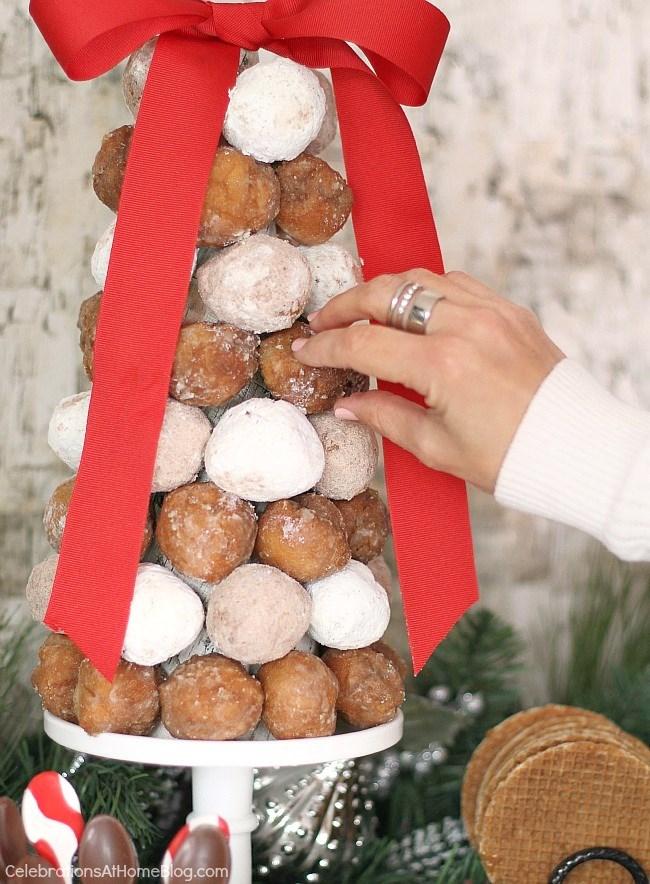 donut hole cone tree