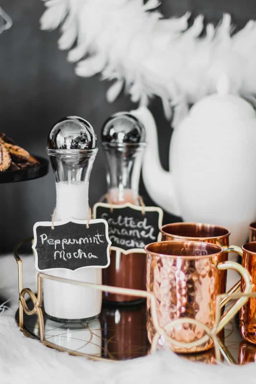 hot coffee tray