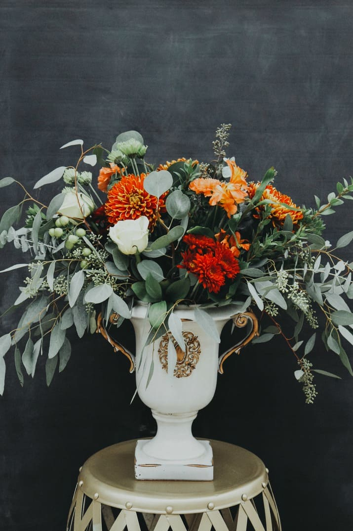 budget floral centerpiece