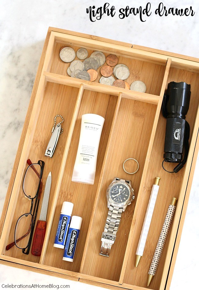 5 ways to use your drawer organizer.