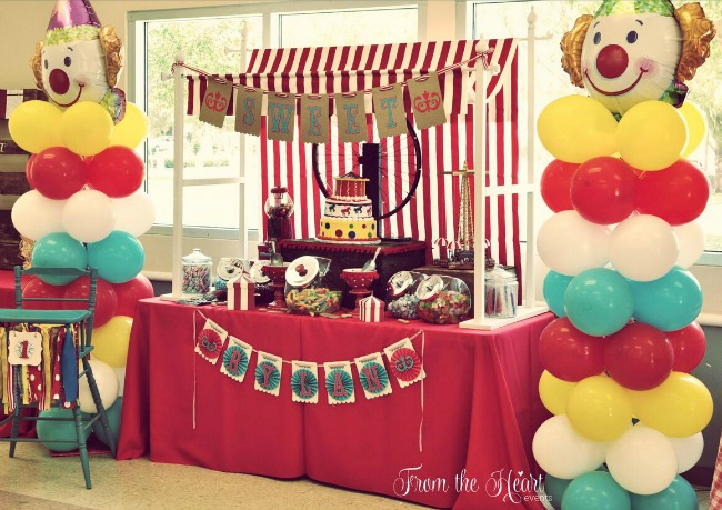 vintage circus party guest feature   celebrations at home