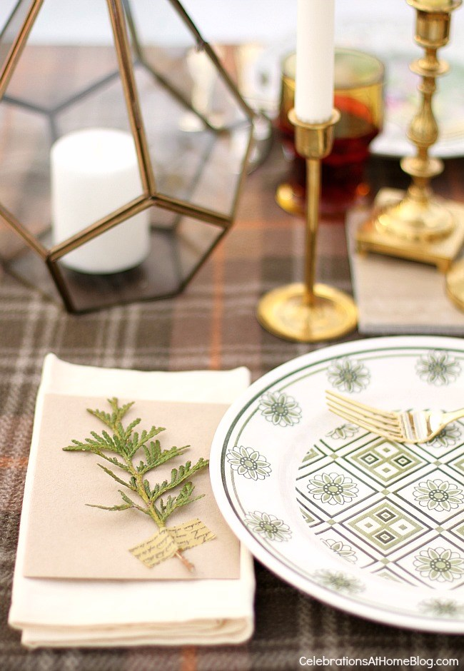 Winter dinner party inspiration; winter entertaining; snowed in party; entertaining at home tablescape