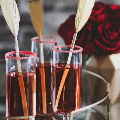 pomegranate sparkle cocktail recipe