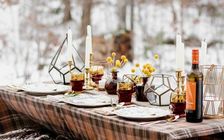 winter dinner party ideas