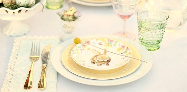 Easter Brunch Tabletop