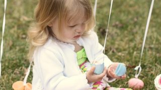 The BEST Easter Egg Hunt Idea for Toddlers