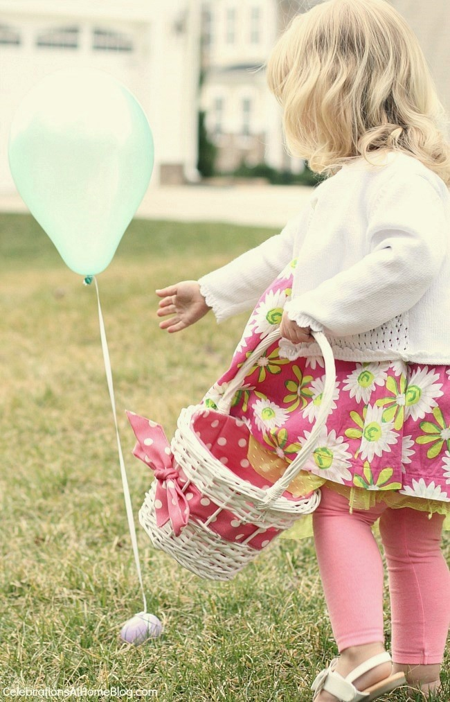 The BEST idea for an Easter egg hunt with toddlers. You don't want to miss this!