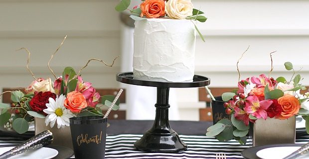 Black & White Celebration Tabletop