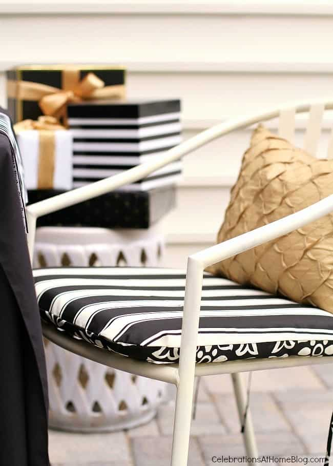 Check out this black & white celebration tabletop for inspiration for hosting those special occasions. From birthdays to graduation dinner parties, these simple pairings will work great!