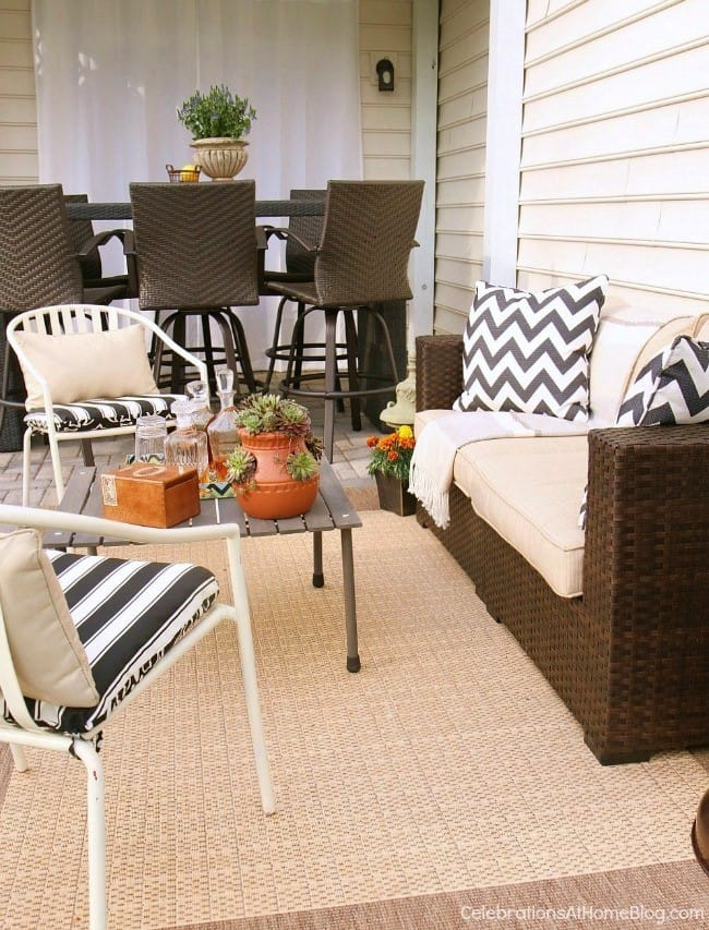 Host a guys night outside on the patio with these tips and ideas.