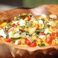Summer Corn Salad recipe for entertaining