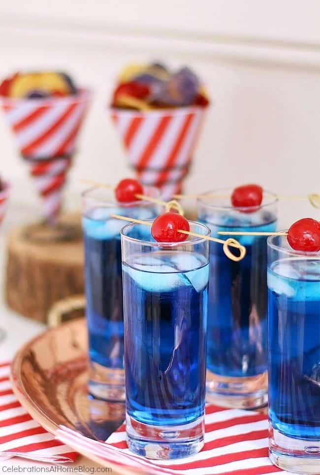 blue drink recipe