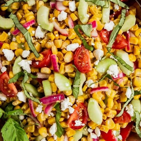 easy corn salad recipe