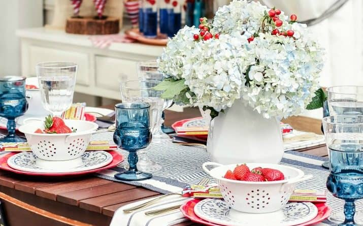 Red White & Blue Party Ideas for 4th of July