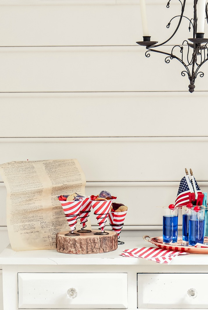 red white and blue party ideas for 4th of July
