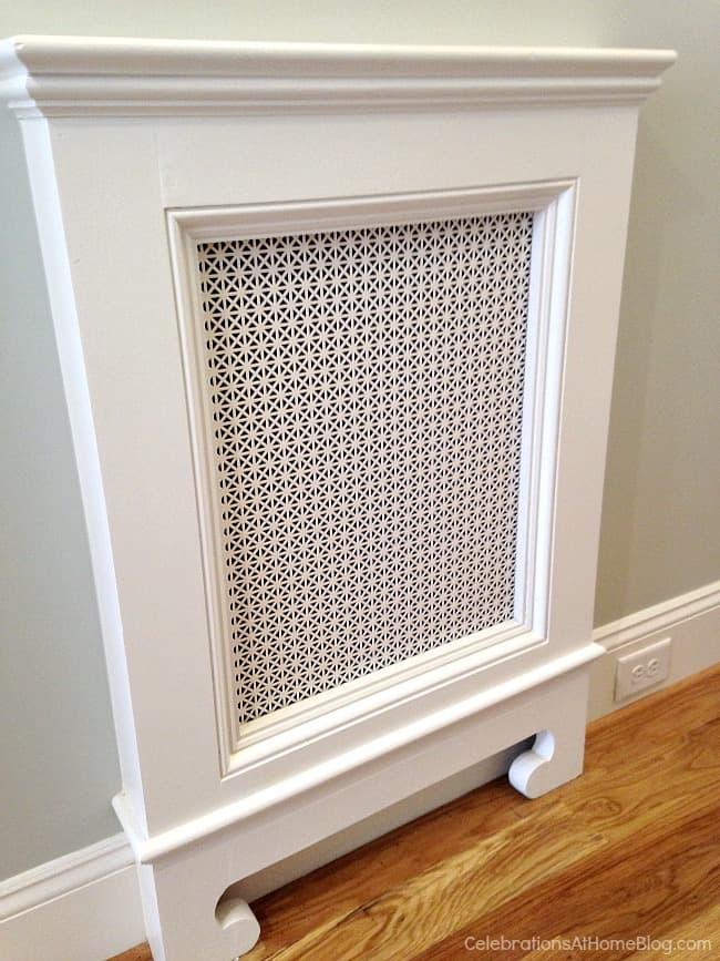 Dress up your vent return. These 12 unique home decor ideas are from a recent designer showcase tour.