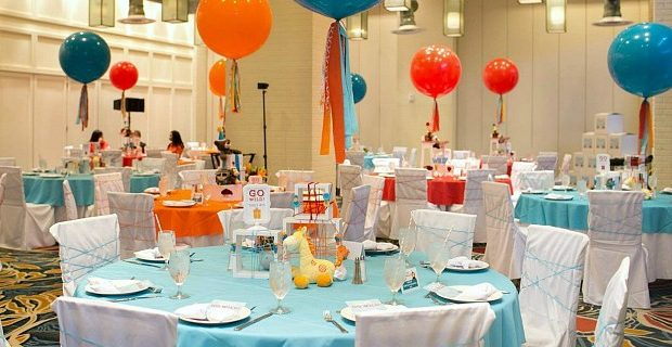 Colorful Baby Shower Event : Operation Shower