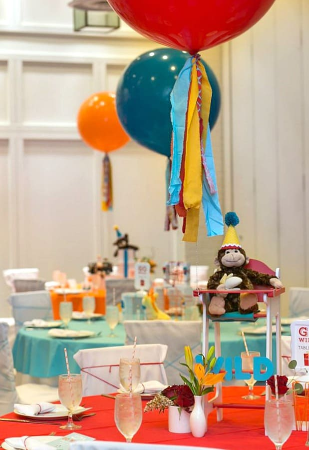 colorful Baby shower event - Operation Shower