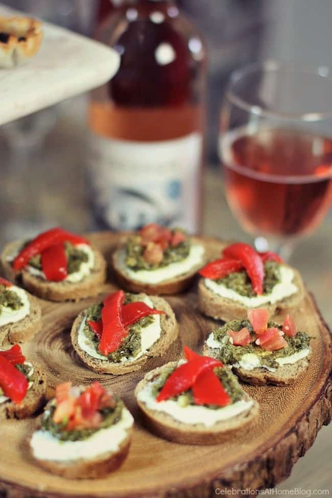 Here are 3 quick & easy cheese appetizers that will become staples in your home entertaining repertoire. Italian style canapes