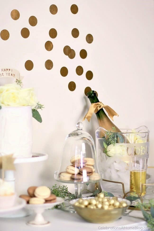 home decoration ideas for anniversary 1st anniversary ideas in gold amp white celebrations 12754