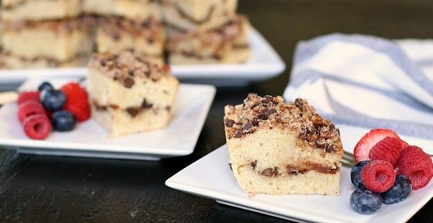 Cinnamon Chocolate Chip Coffee Cake Recipe