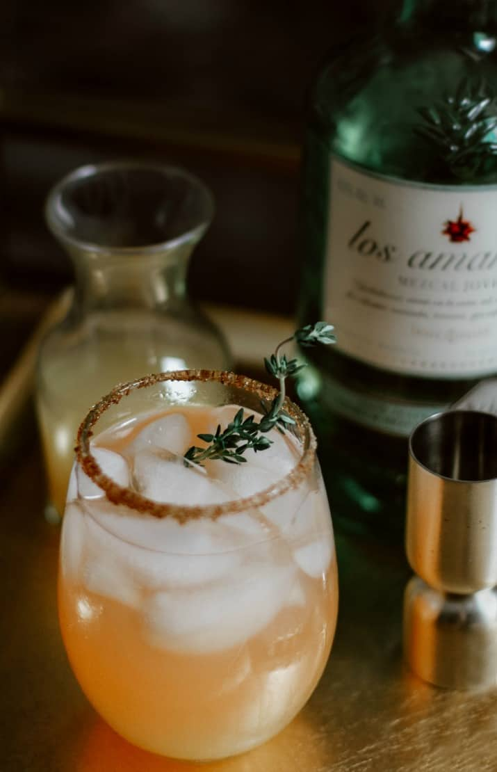 spinning top mezcal cocktail
