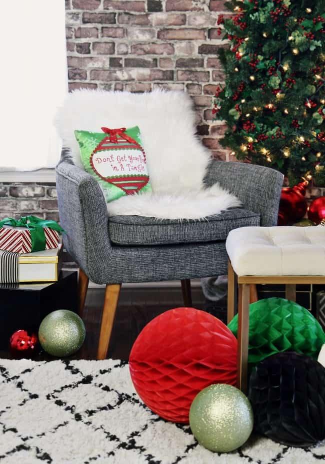 naughty or nice christmas party lounge