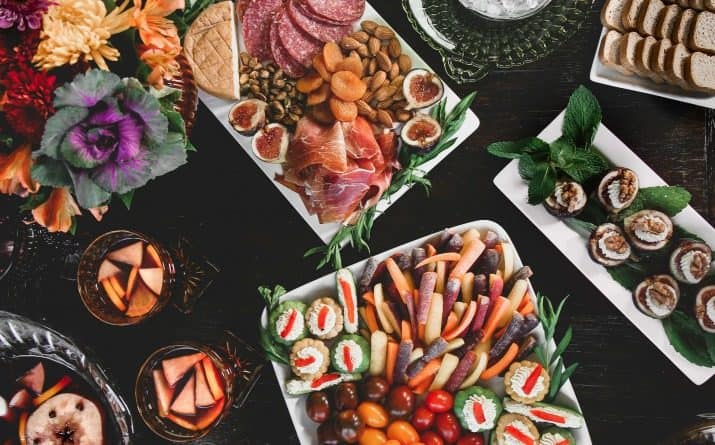 easy party appetizers buffet