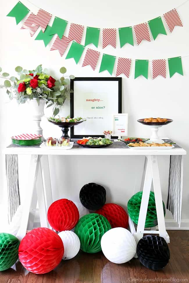 Naughty or Nice Christmas Party - Celebrations at Home
