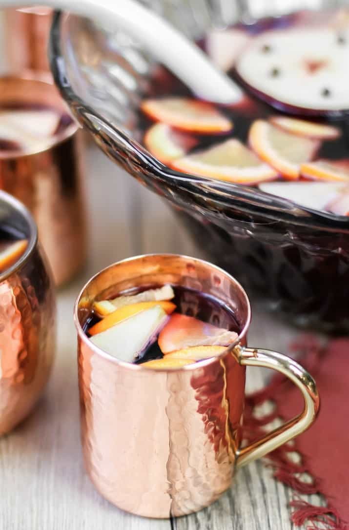 spice sangria holiday punch