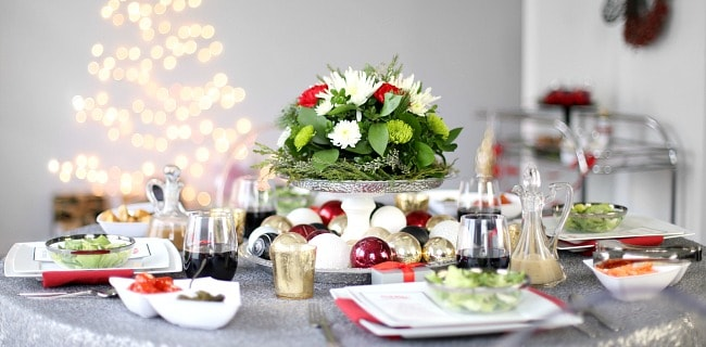 Christmas Dinner Entertaining tips