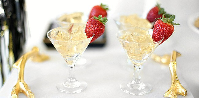 Easy Champagne Jello Squares Recipe for a Party