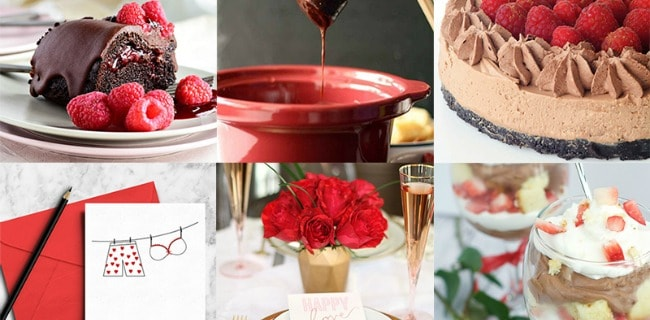 Romantic Valentine's Day Meal Plan