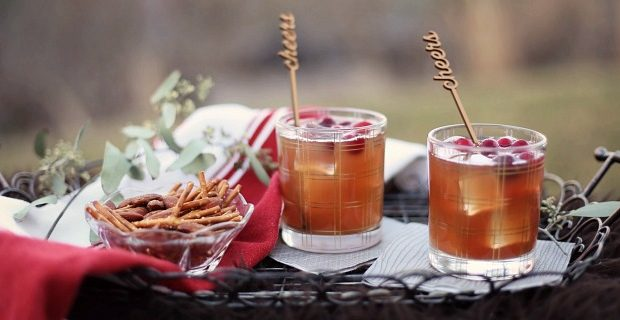 Cranberry Cinnamon Cocktail recipe