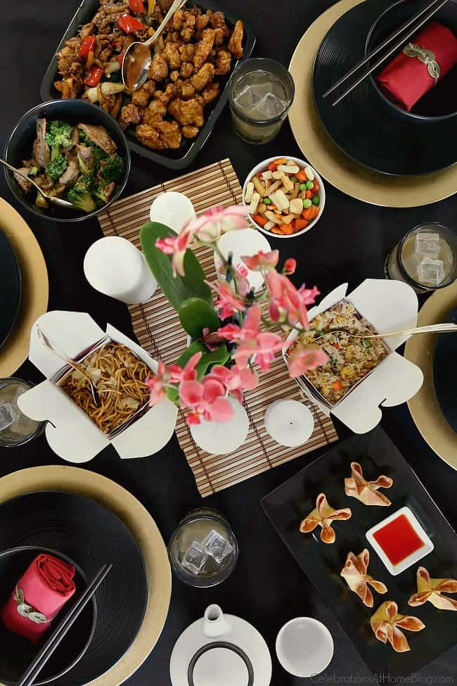 celebrate chinese new year with a chinese themed dinner party with inspiration and ideas from