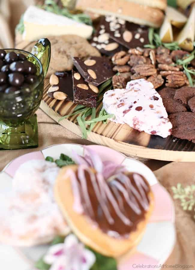 Chocolate Amp Cheese Dessert Board Celebrations At Home