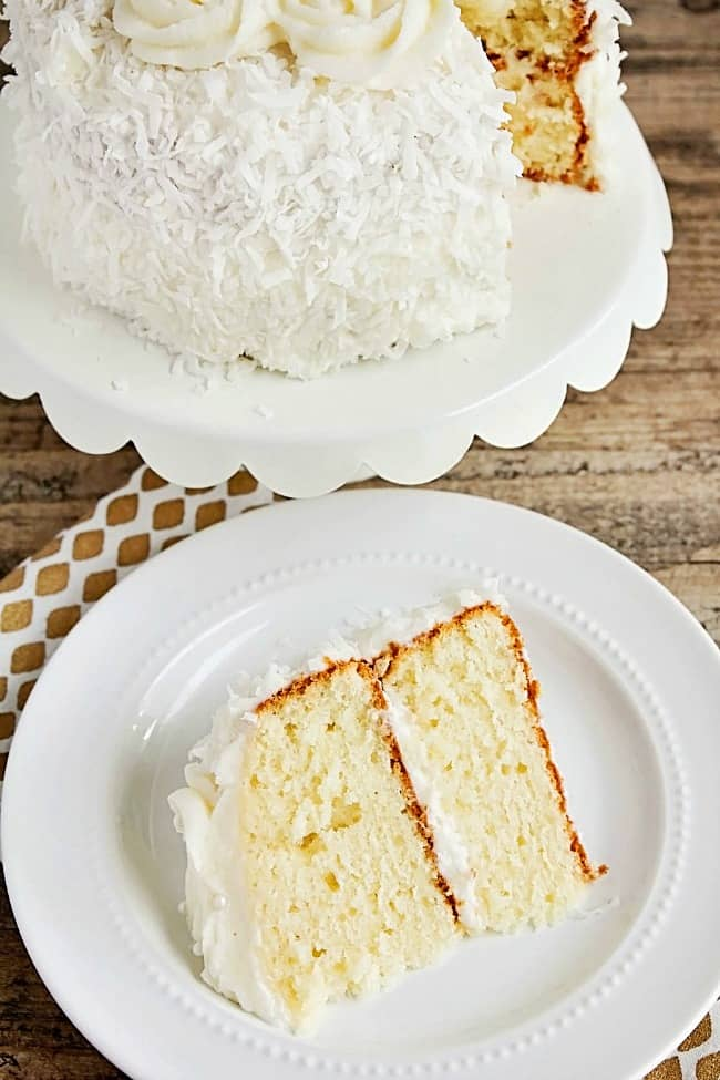 Easter dinner plan; Easter dinner party - coconut cake