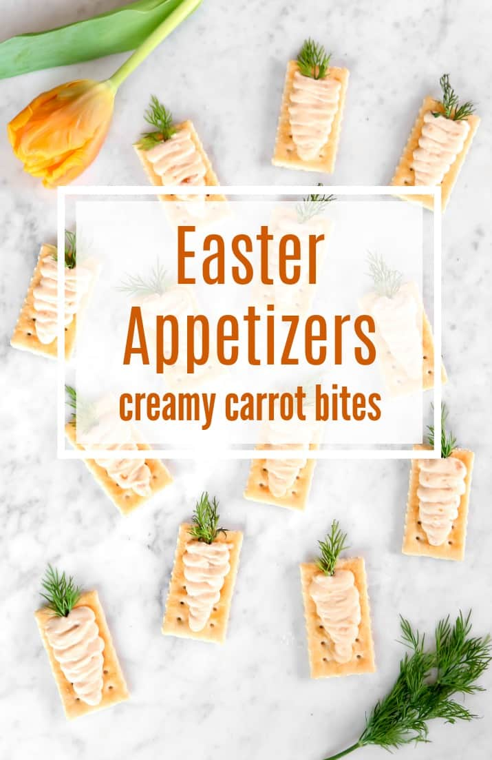 Easter appetizers pin