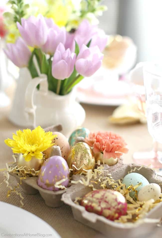 Set a beautiful Easter tablescape with inspiration and styling tips