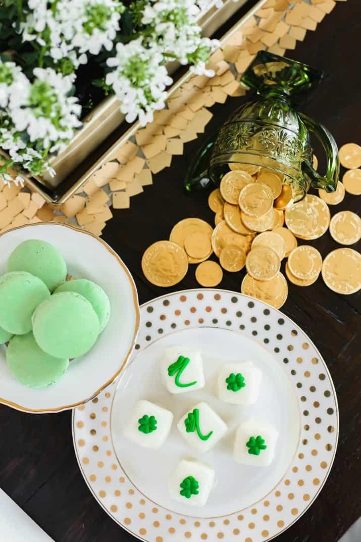 St Patrick's day party sweet treats