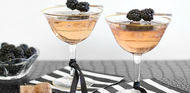 Blackberry Sparkler Cocktail Recipe