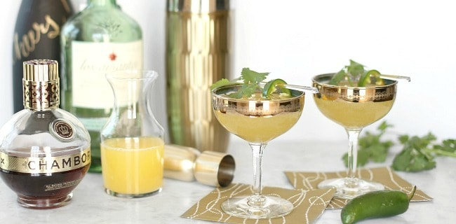 Sweet Smoky Prosecco Cocktail