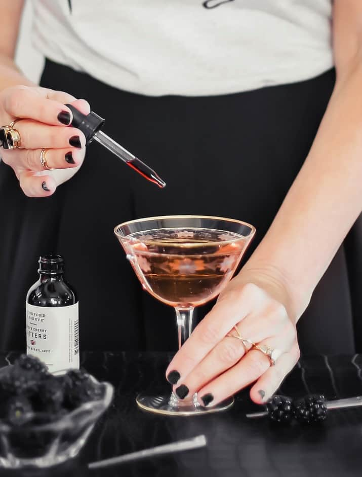 bitters in cocktail