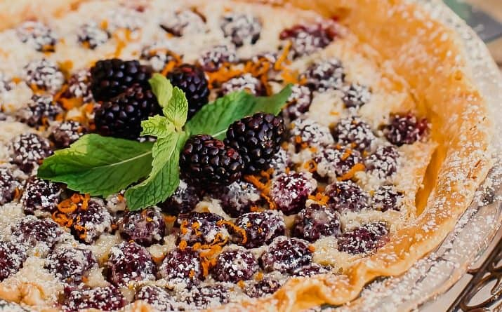 Try This Blackberry Custard Pie Dessert Recipe for Entertaining