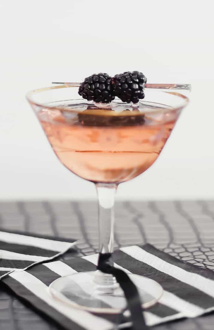 blackberry liqueur cocktail