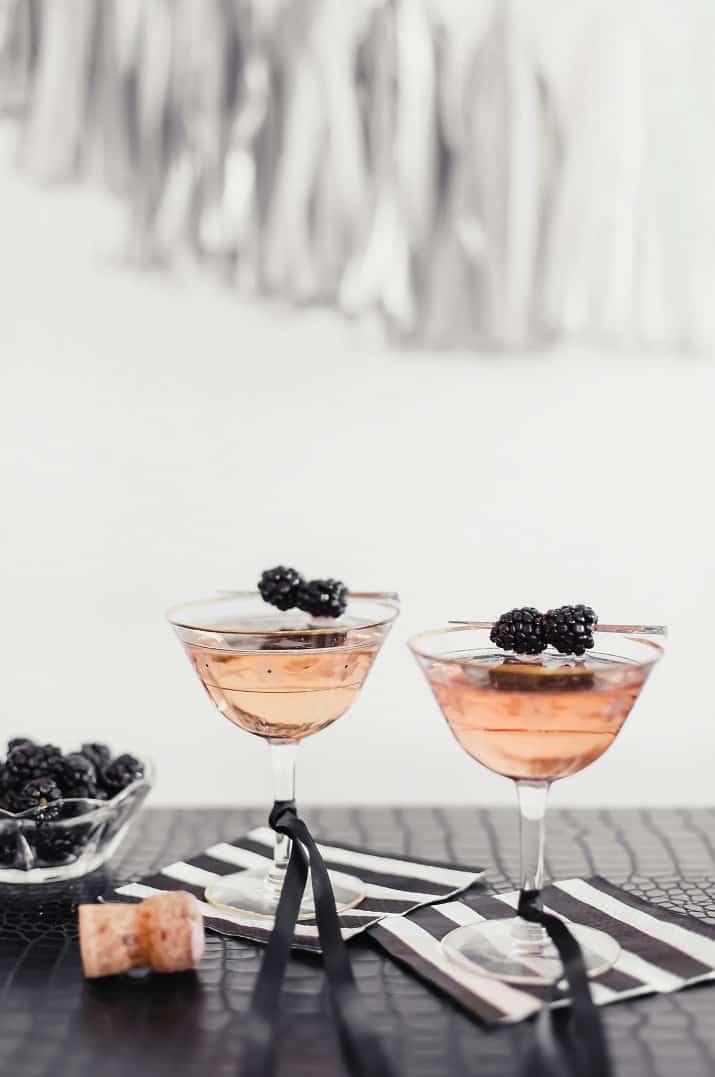 blackberry prosecco cocktail recipe