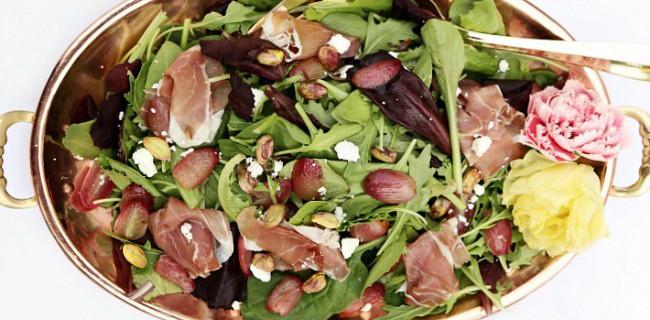 Roasted Grape Salad recipe