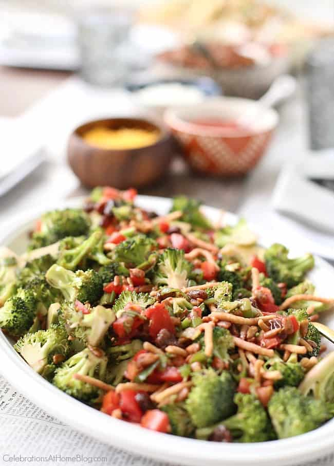 Plan a hot dog roast for summer entertaining with these tips. Make this unique broccoli salad ahead.